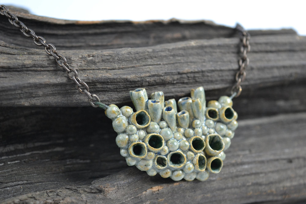 Lichen necklace
