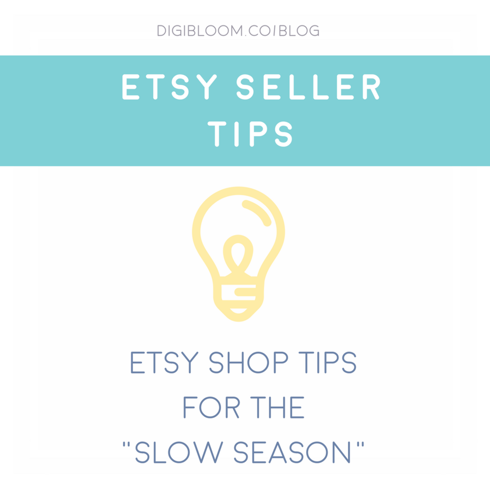 Etsy makeover ideas for your shop during the slow season