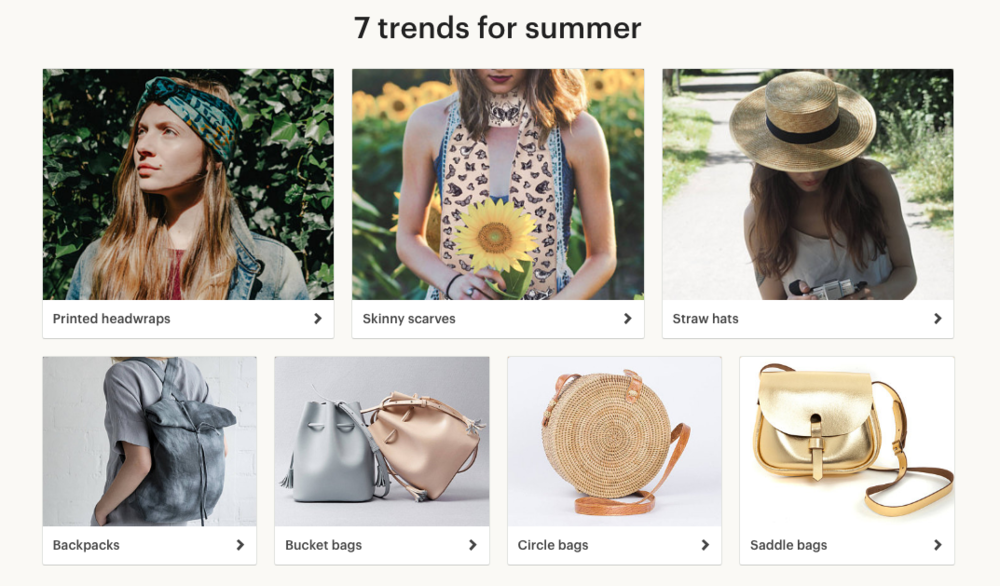 How to get your items featured in Etsy Editors' Picks categories