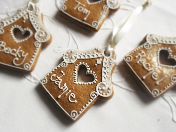 Personalised gingerbread