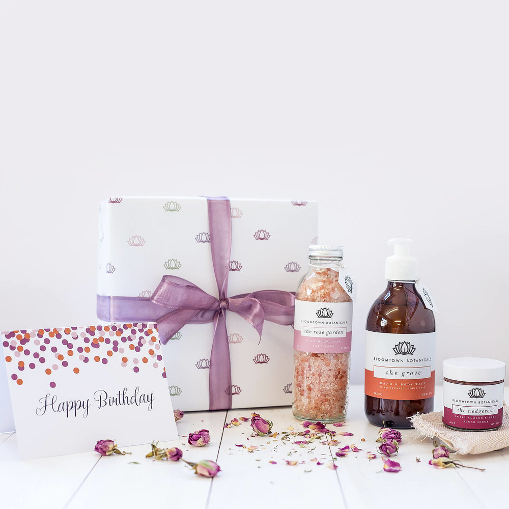 Vegan pamper set