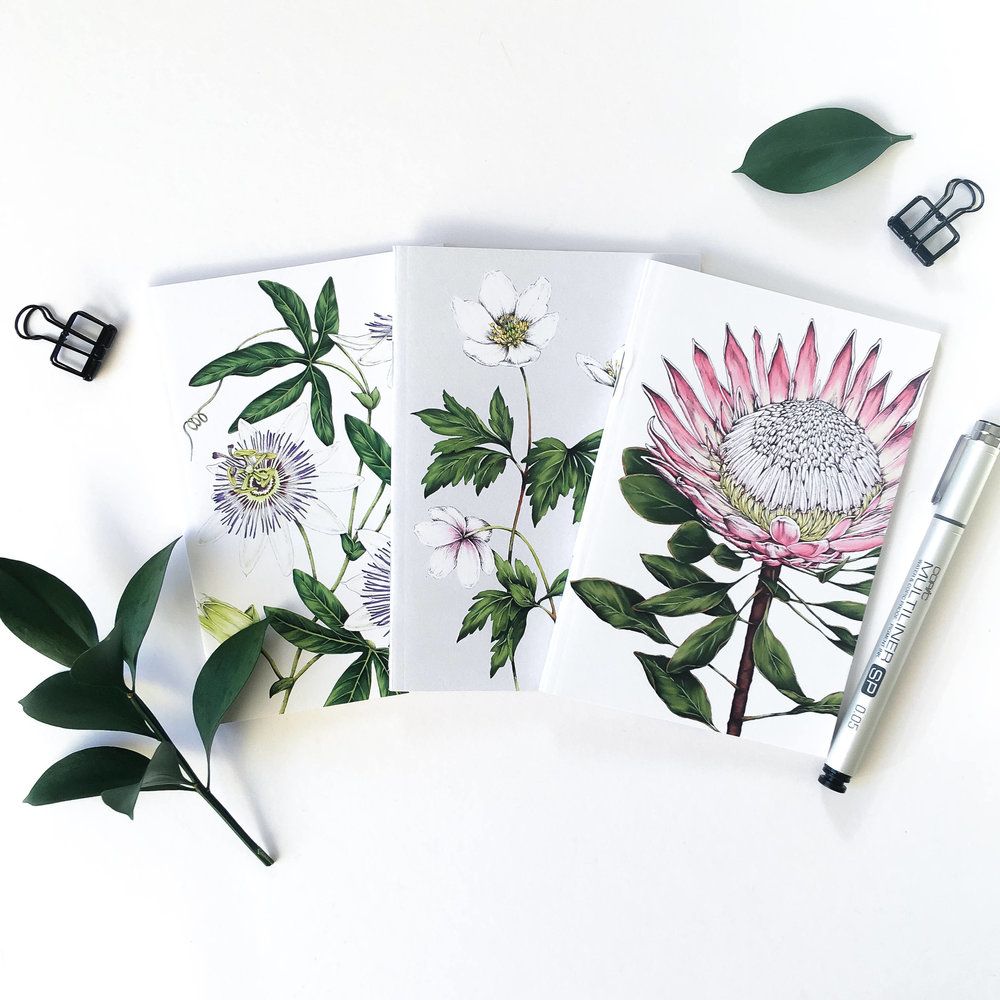 Botanical notebooks