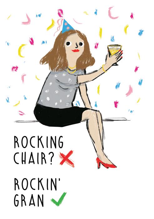 Rocking chair? Rockin' gran!