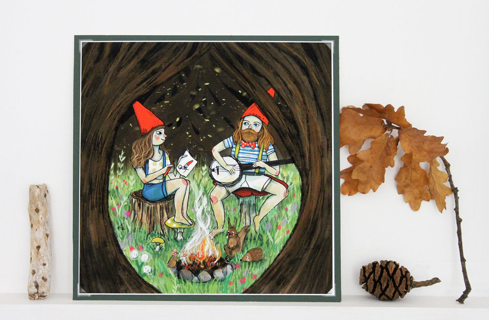 Gnome place like home print