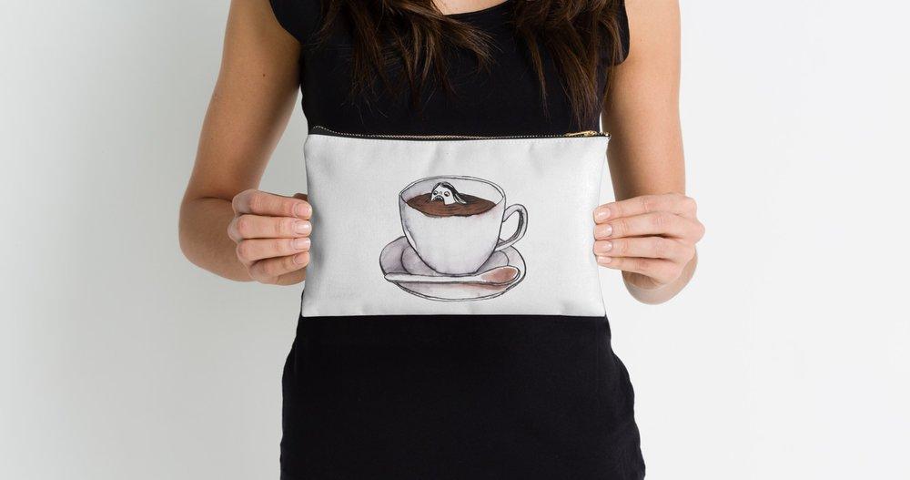 Caffeine Addict pouch