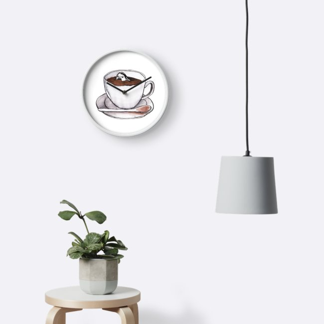 Time for tea?  Click image to see listing on Redbubble.