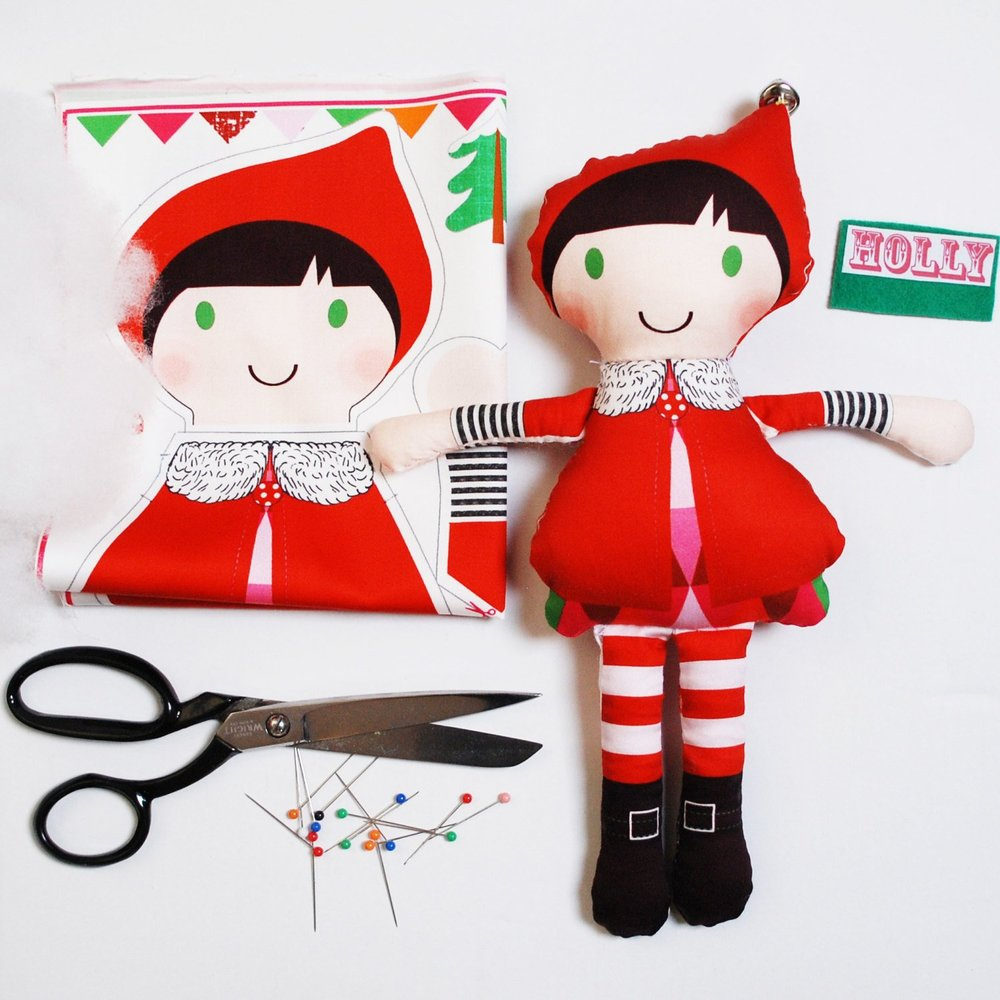 DIY Elf Doll