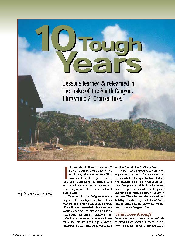Wildland Firefighter Magazine