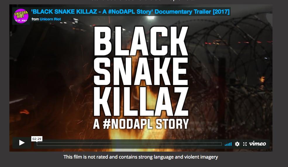 UnicornRiot Black Snake Killaz