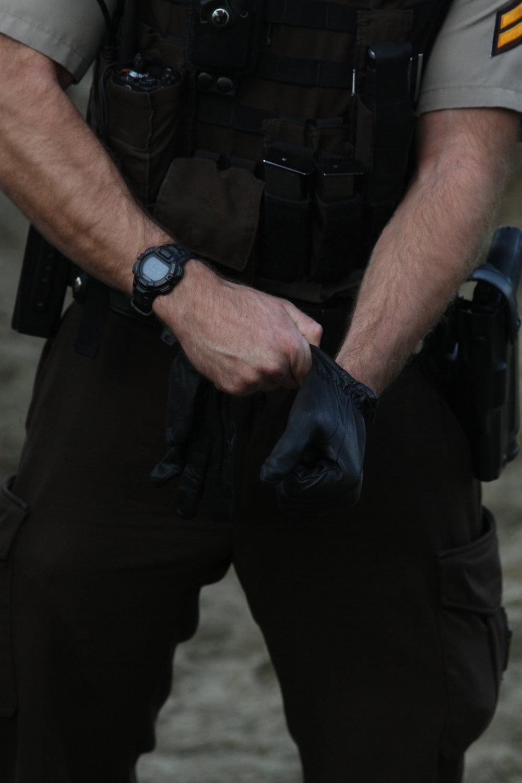 Morton County deputy preparing for engagement