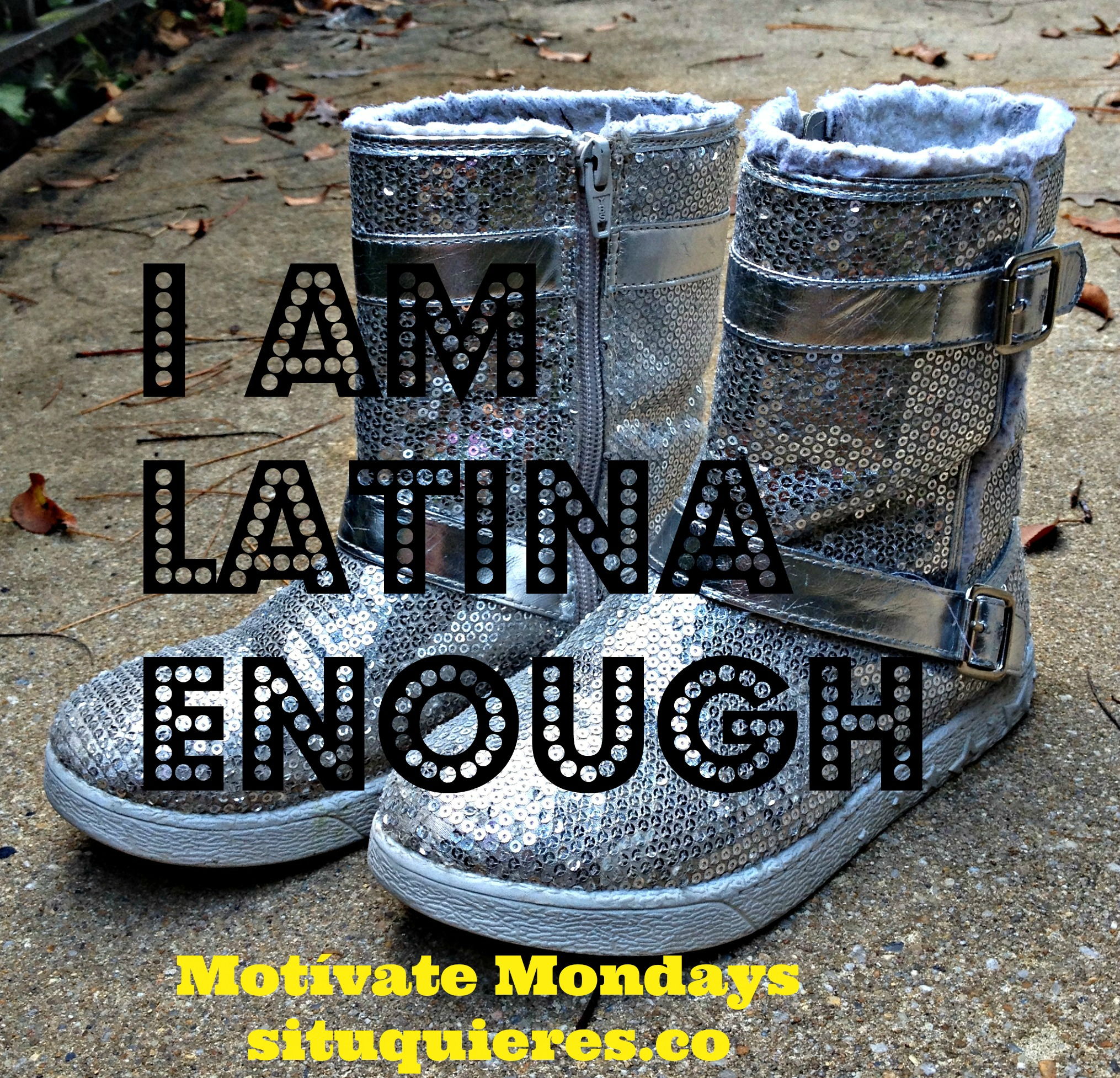 Motivate Monday Silver boots