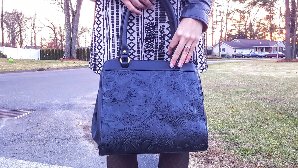 black purse LifeOfArdor