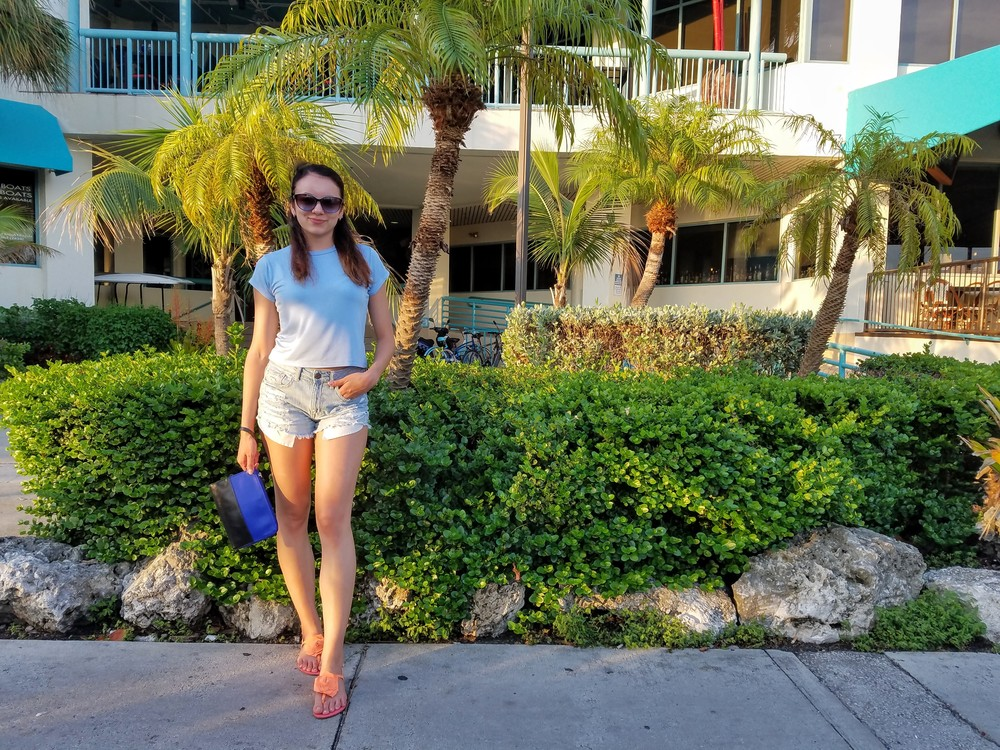Miami vacation traveler summer lifestyle fashion style ootd palmtrees summer LifeOfArdor