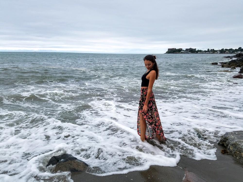 LifeOfArdor, beach, ocean, fashion, style, ootd, maxi skirt, blogger, fashion blogger, lifestyle blogger