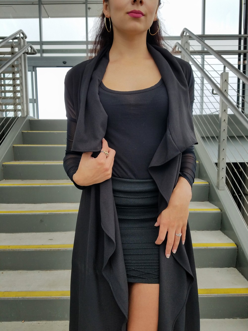 LifeOfArdor, all black outfit, zara heels, high heels, ootd, style, fashion, blogger, lifestyleblogger, fashionblogger
