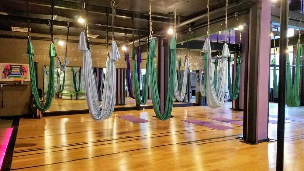 AntiGravity Aerial Yoga Class Studio
