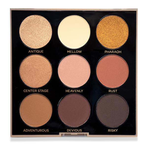 Profusion Cosmetics holiday collection- nude palette.