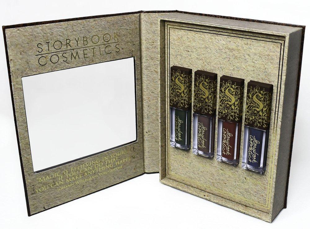 Storybrook Cosmetics Liquid Lipsticks.