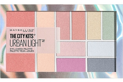 Maybelline city kits eye and cheek palette.