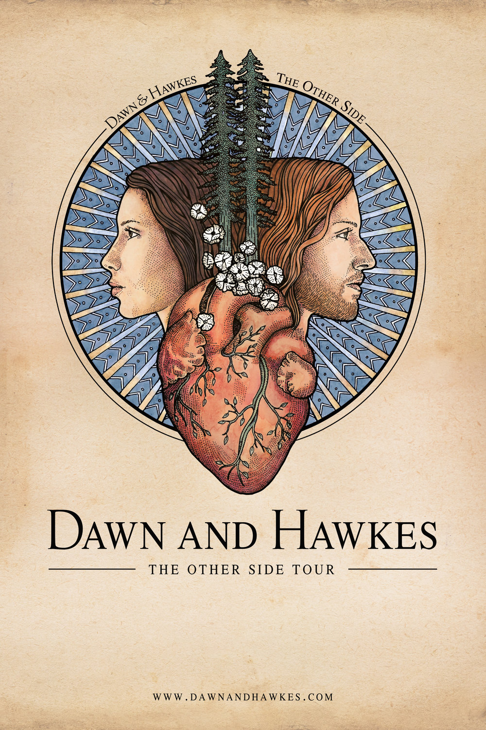 """The Other Side"" Tour Poster"