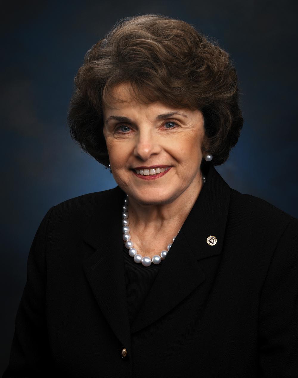 Diane Feinstein, Senator