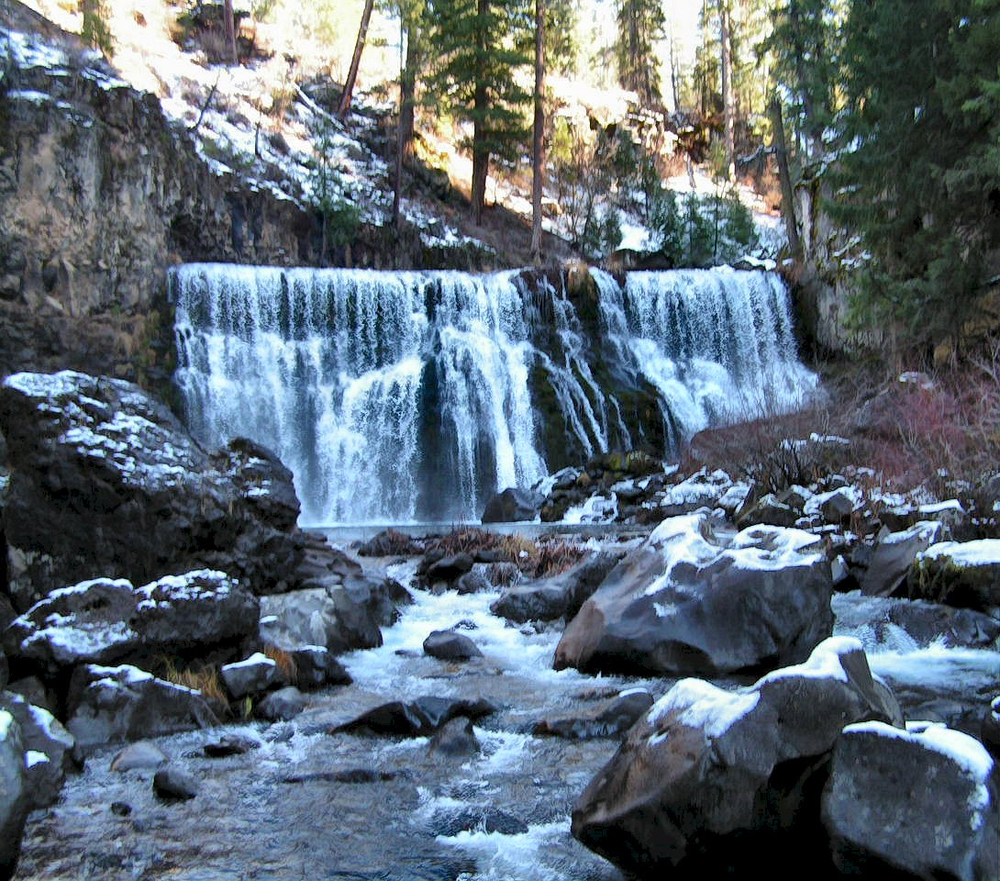 McCloud River Middle Falls