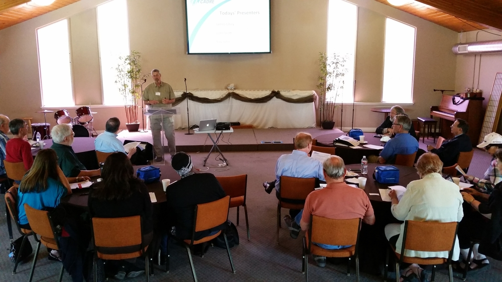 Faith based training for C.A.D.R.E. @ Legacy in Los Gatos.