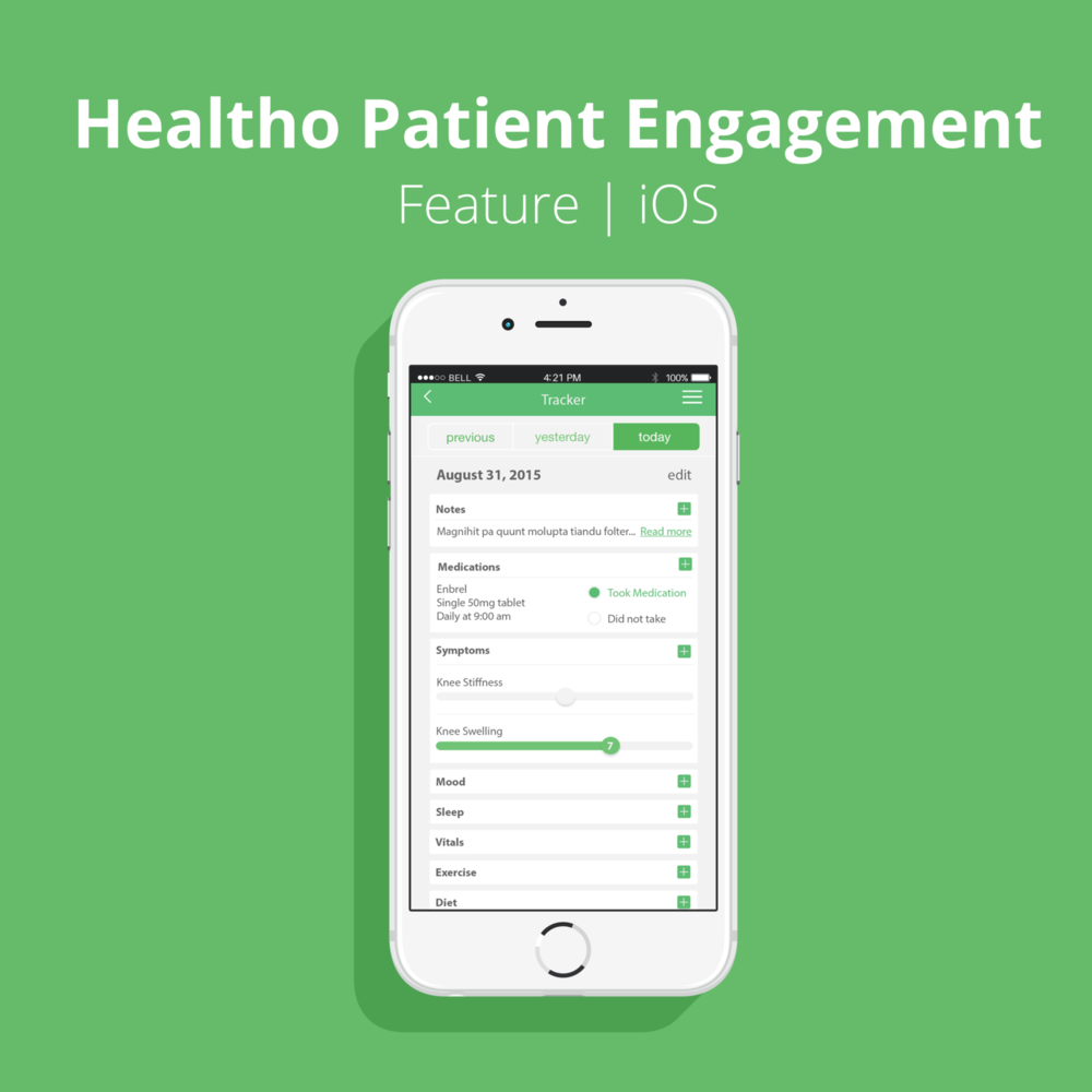 Healtho Patient Engagement App