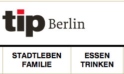 Tip Berlin Magazin, 2015