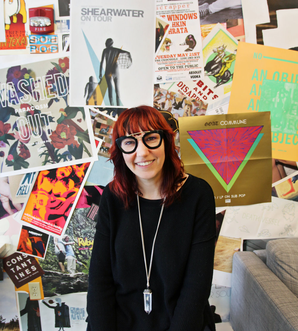 Megan Jasper, CEO of   Sub Pop Records