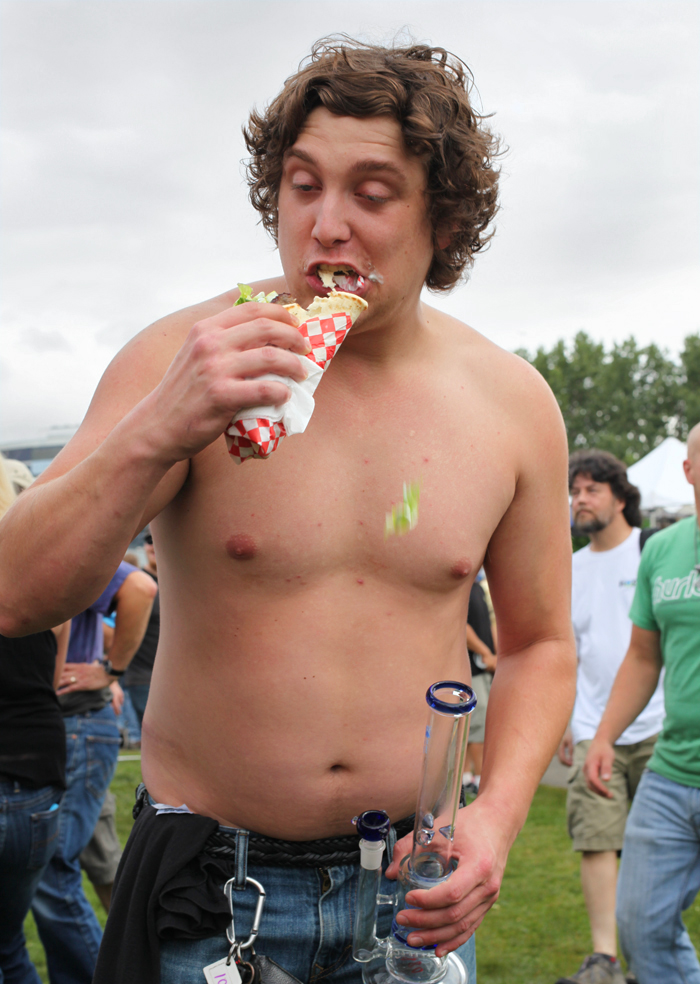 "Hempfest 2014. Read more on  Stranger  SLOG, in a column called >>>   ""How High Are You?"""
