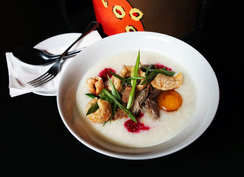 Food Review >>>   Kraken Congee
