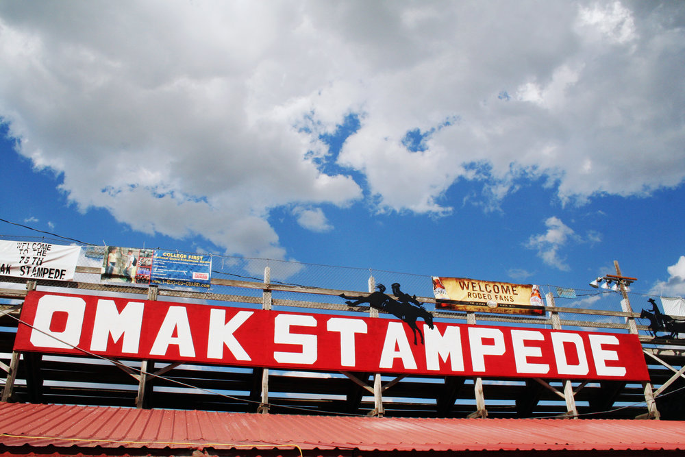 Travel >>>   The Omak Stampede and Suicide Race