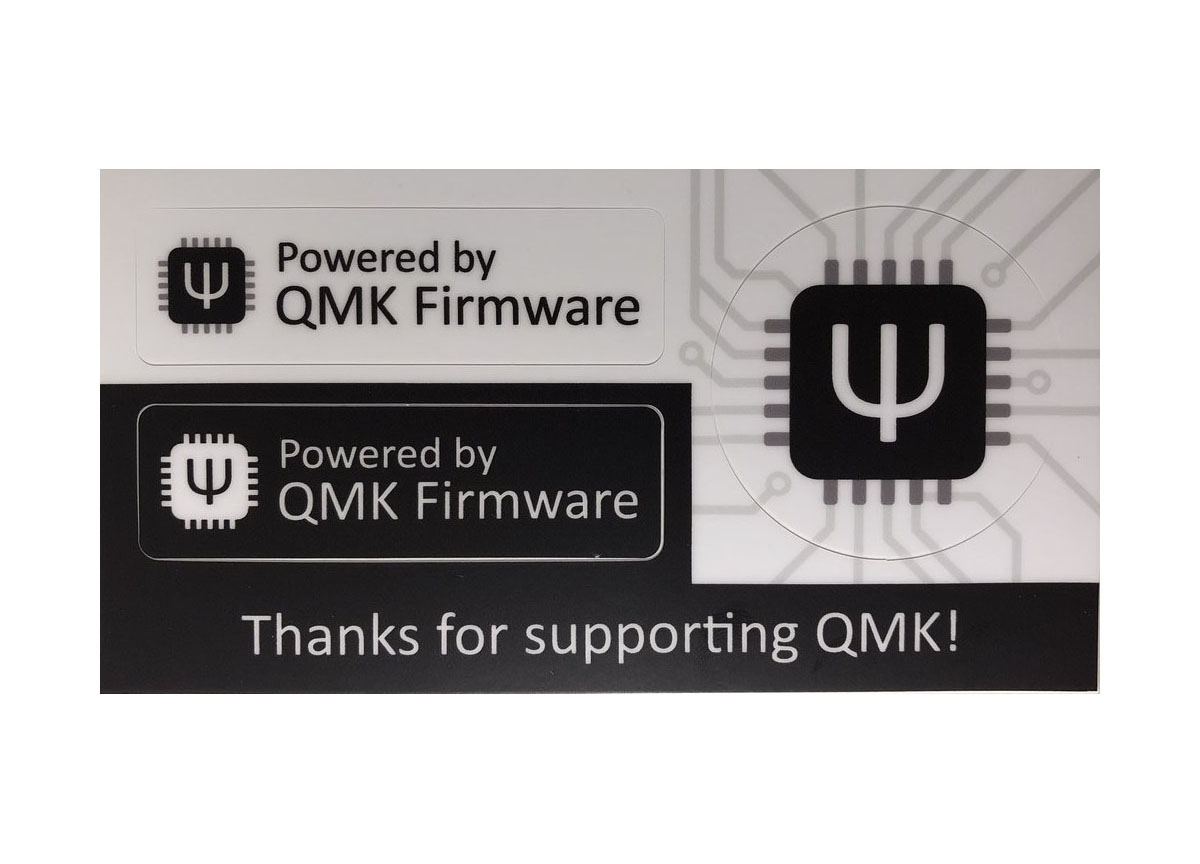 QMK Stickers — Clueboard