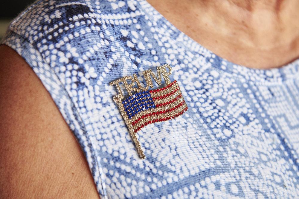2018 08 01-n piserchio-lynette villano-wilkesbarre pa-trump supporter luzerne county delegate wears pin 36.jpg