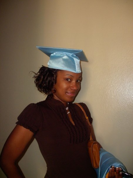 Even as a high school student, Tamasia wore pearl jewelry.
