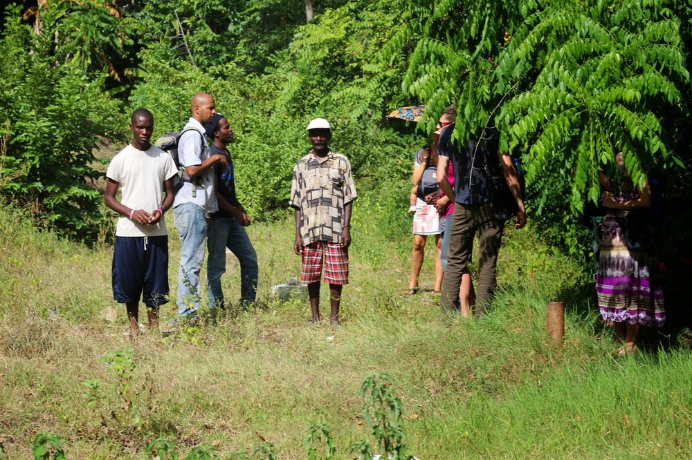 Patrico in Haiti's northern department. Many communities have reported mining companies coming uninvited onto their land to dig for soil samples over the past several years. In most cases the communities don't clearly understand what it is the companies are doing there. (Photo credit: Ted Oswald)