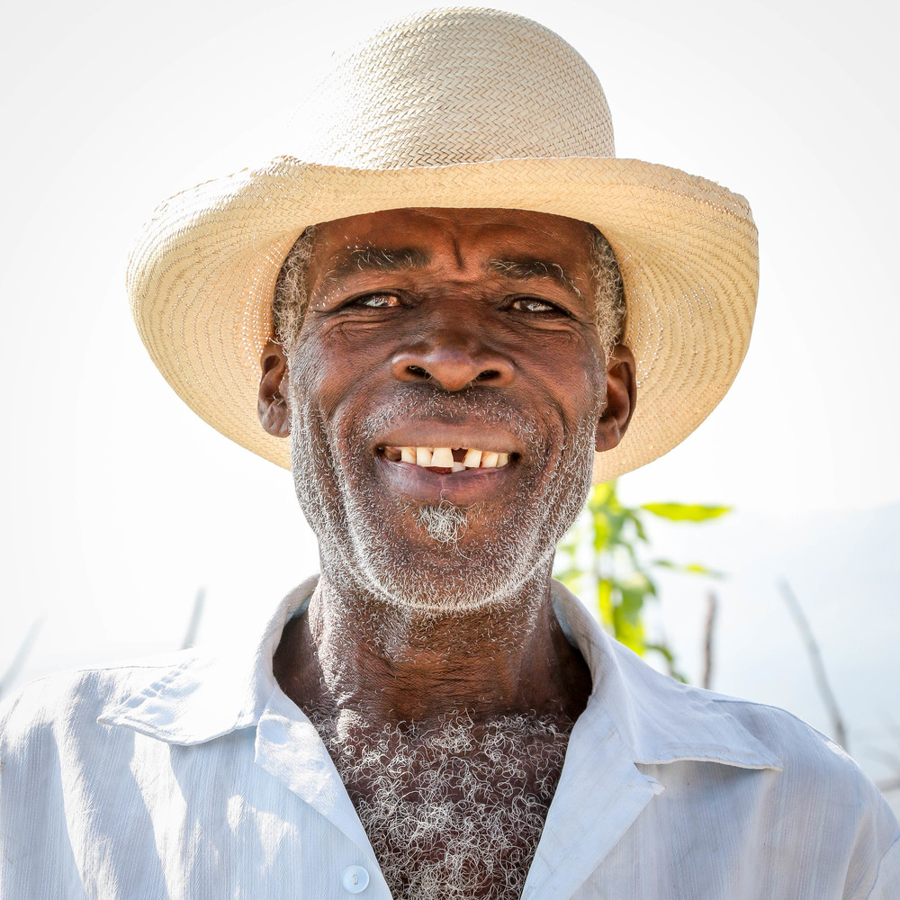 Fleurimond Konsel, Kabay farmer and participant in an MCC supported community seed bank.