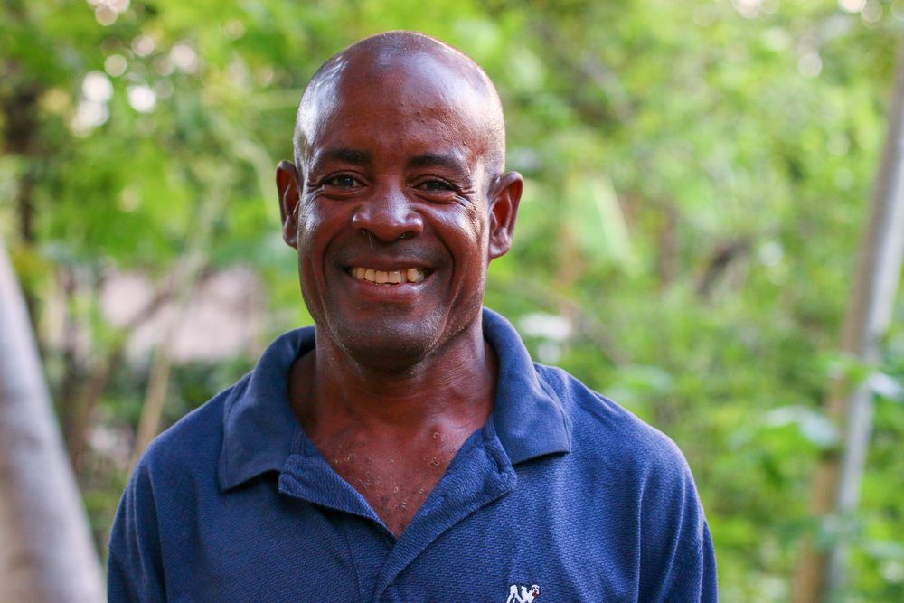 "Bozil ""Wowo"" Anouce is the night watchman at the MCC office in Desarmes, Haiti. He contracted cholera in April of 2016 and received treatment at the nearby Cholera Treatment Center in Verrettes."
