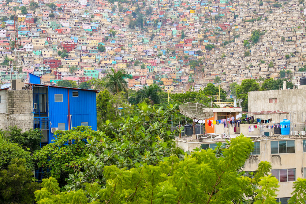 The view from TIMKATEC, an MCC-supported school in Port-au-Prince.