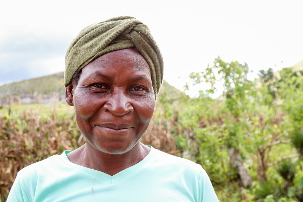 Antrennet Remilous fell and broke her leg on the four hour walk she used to make to get water. Without good roads or easy access to medical care in the community she couldn't get treatment.