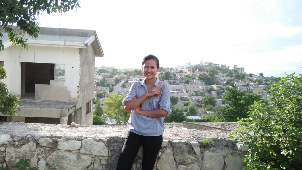 In Port-au-Prince.
