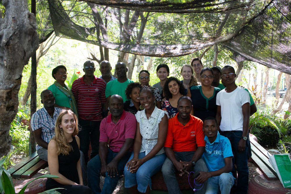The MCC Haiti team, December 2018