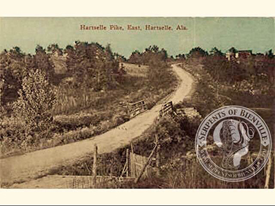 Vintage photograph from Hartselle, Alabama