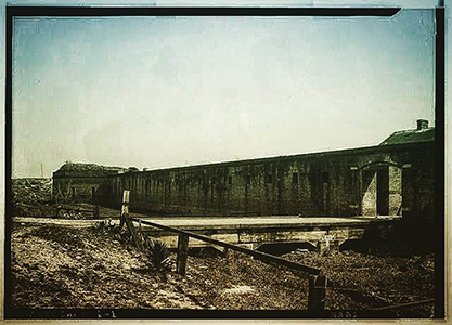 Photograph of Old Fort Gaines