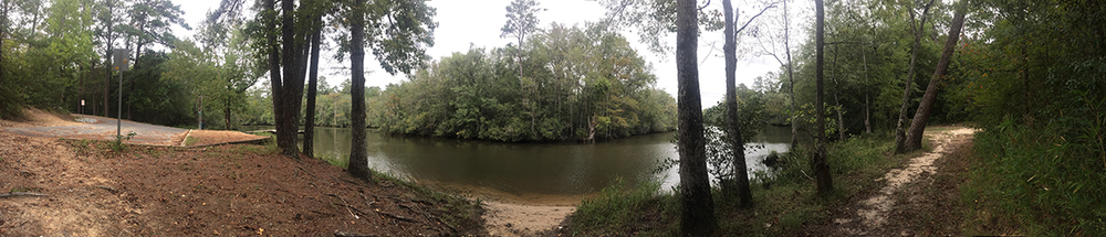 photo of Byrnes Lake present day