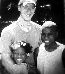 Myself, Melinda, Rashaun in Memphis, TN 2000