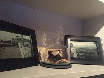 "Pieces from our ""Stedman's Landing"" exhibit"