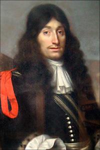 Painting of Henri de Tonti
