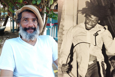 H.R. now and when he was performing with Bad Brains